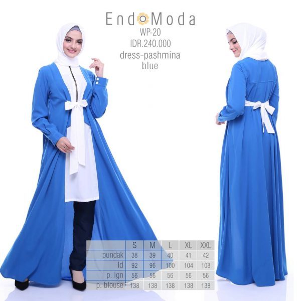 Gamis-Endomoda-Wp20-Blue