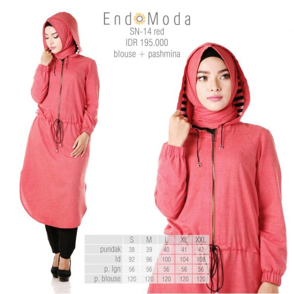 Tunik-Endomoda-Sn14-Red