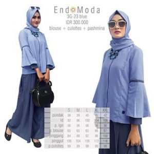 Endomoda 3G 23 blue All in