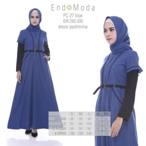 Tunik Endomoda PC27 blue