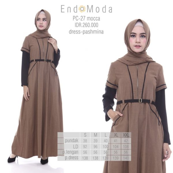 Tunik Endomoda PC27 mocca